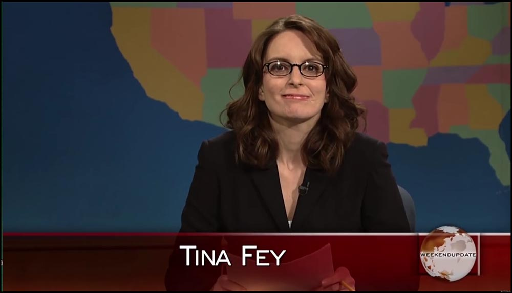 "Figure 4.29 Fey's work on Saturday Night Live's ""Weekend Update"" helped to establish her television credentials."