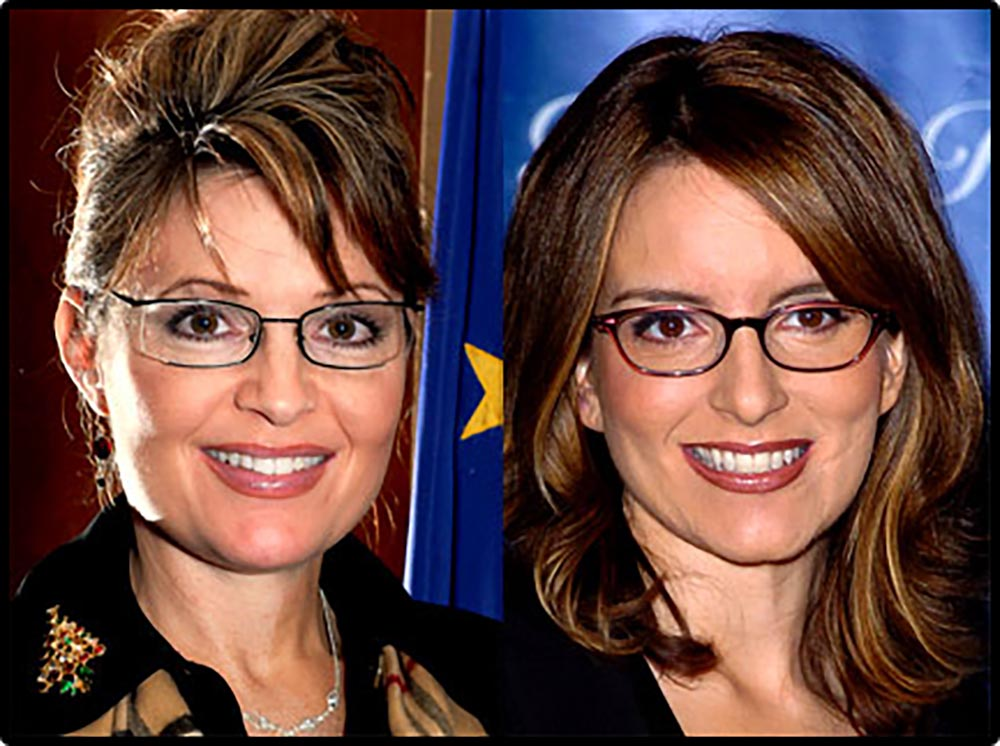 Figure 4.30 Sarah Palin and Tina Fey have an uncanny resemblance to one another.