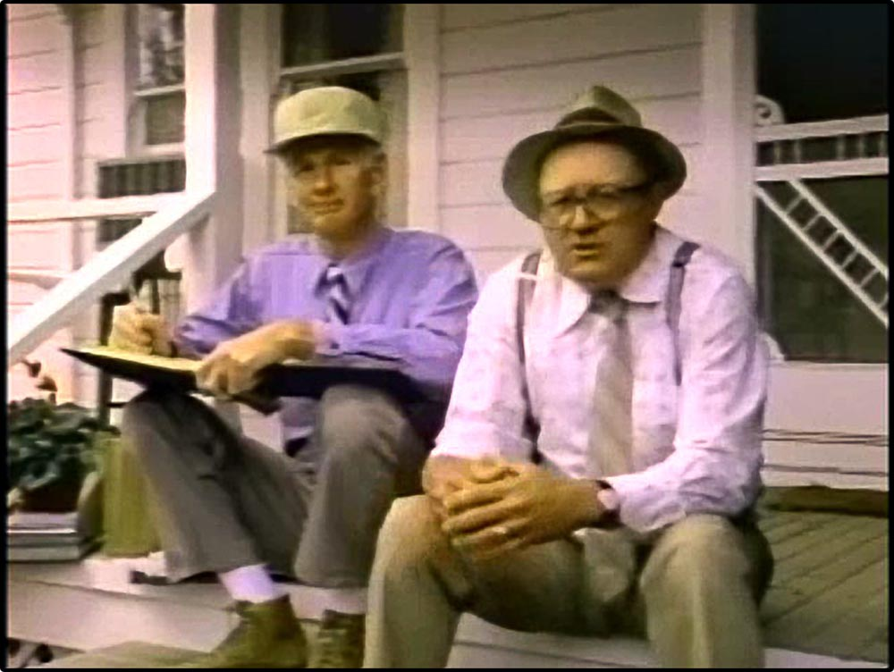 Figure 6.3 David Rufkaur (right) and Dick Maugg perform as Frank Bartles and Ed Jaymes, respectively, the fictional creators of Bartles & Jaymes wine coolers.