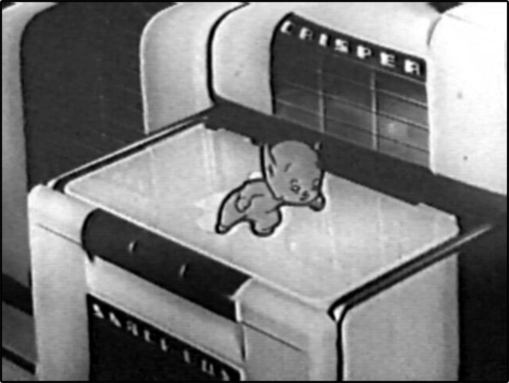 Figure 6.38 An animated pixie appears on top of a photograph of a Philco refrigerator.