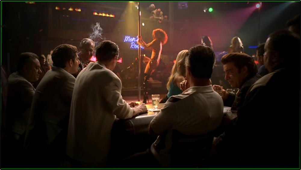 Figure 8.1 The setting of Bada Bing! signifies the unsavory, hyper-­masculine nature of characters in The Sopranos.