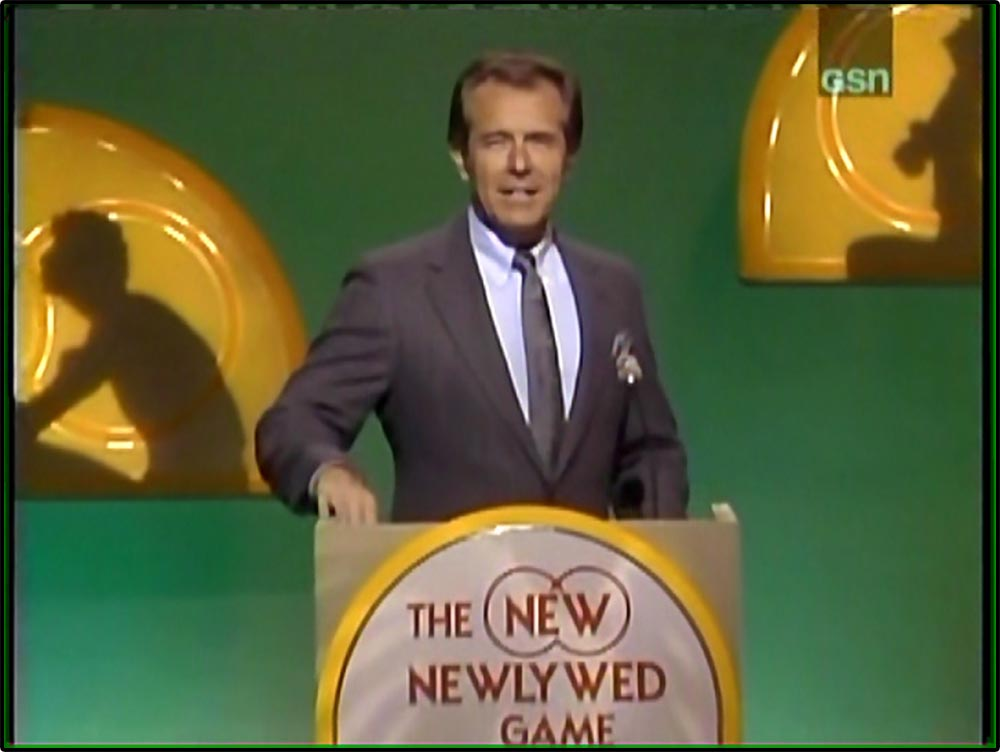 Figure 8.9 Bob Eubanks at the podium of The New Newlywed Game.