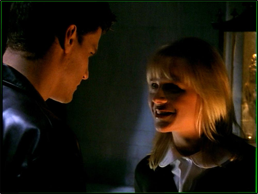 Figure 8.25 Eerie underlighting of Darla in Buffy the Vampire Slayer.