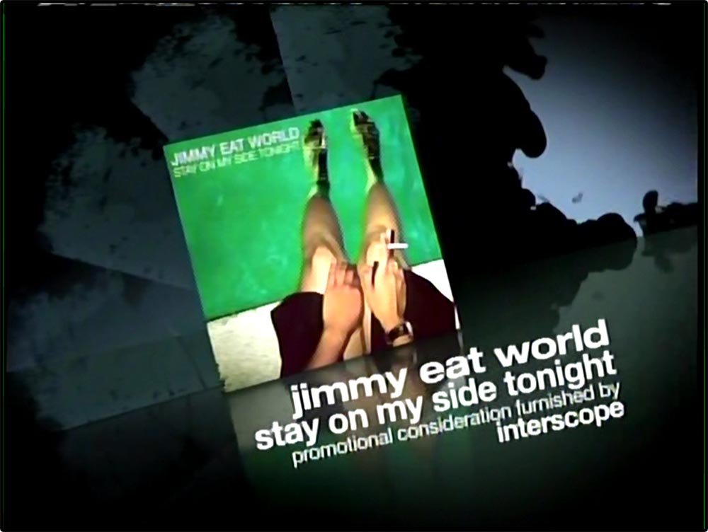 Figure 11.3 An ad card promotes music used in an episode of One Tree Hill.