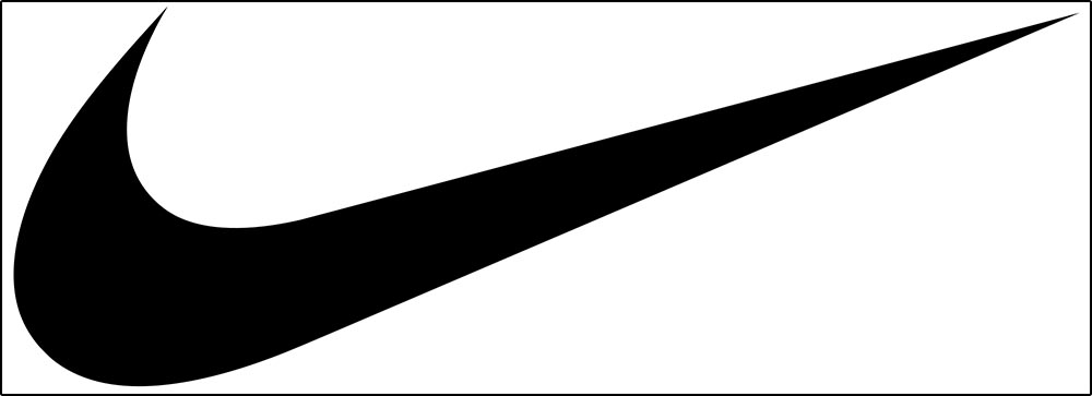 "Figure 13.4 The Nike company's trademarked ""swoosh."""