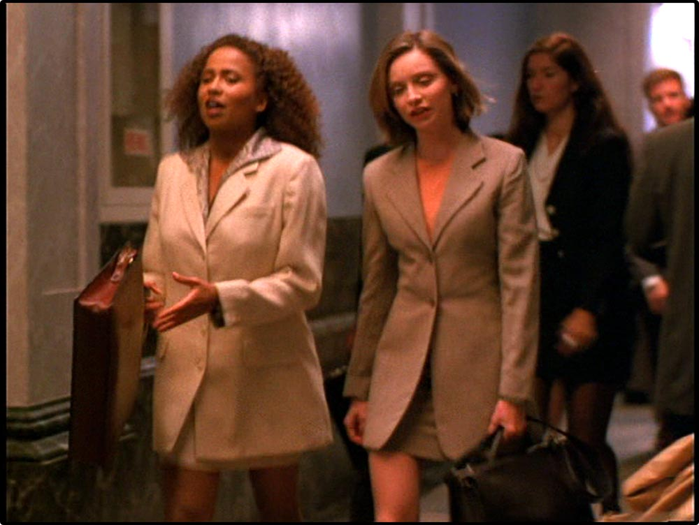 "Figure 14.3 Ally McBeal's short skirts led Time magazine to ask, ""Is Feminism Dead?"""