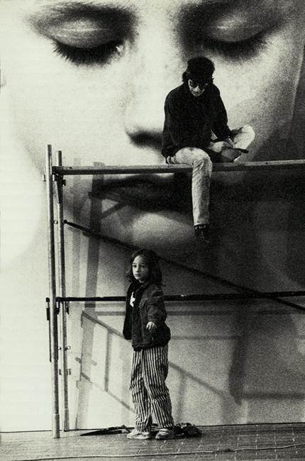 Helnwein with his son Ali