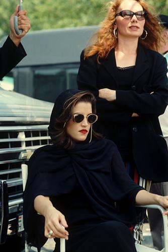 Lisa Marie Presley and Renate Helnwein