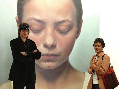 Helnwein and Arundhati Roy