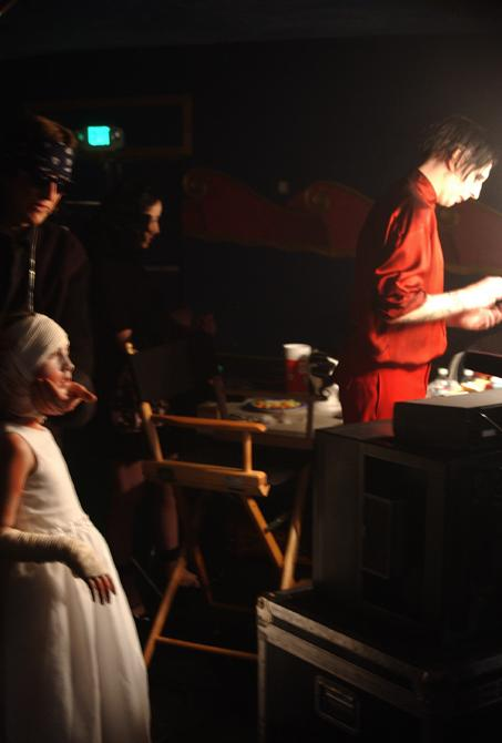 Helnwein, Brittany and Marilyn Manson