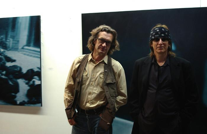 Wim Wenders and Helnwein