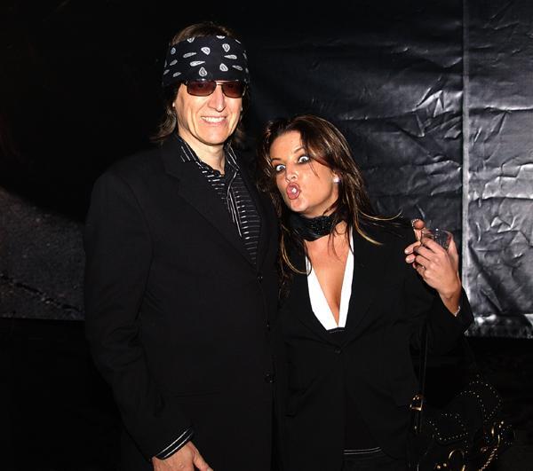Helnwein and Lisa Marie Presley