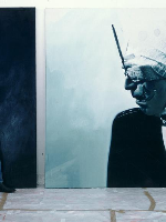 Helnwein-finishes-Self-portrait