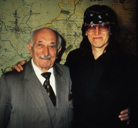 Simon Wiesenthal and Helnwein