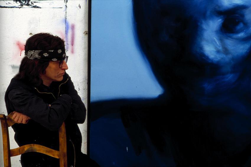 """Helnwein and """"Fire-Man"""""""
