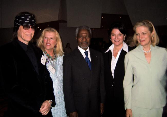Kofi Annan, UN Secretary-General, Walt Disney Concert Hall