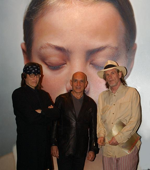 Helnwein, Ben Kingsley and Nick Nolte