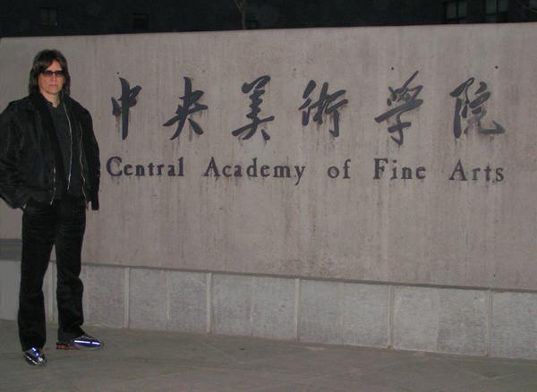 Helnwein in Beijing