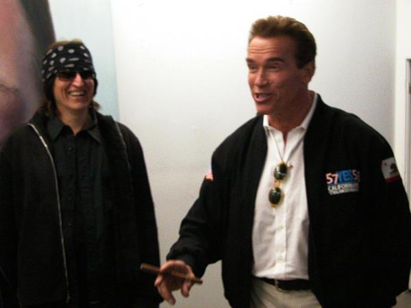 Helnwein, Governor Arnold Schwarzenegger