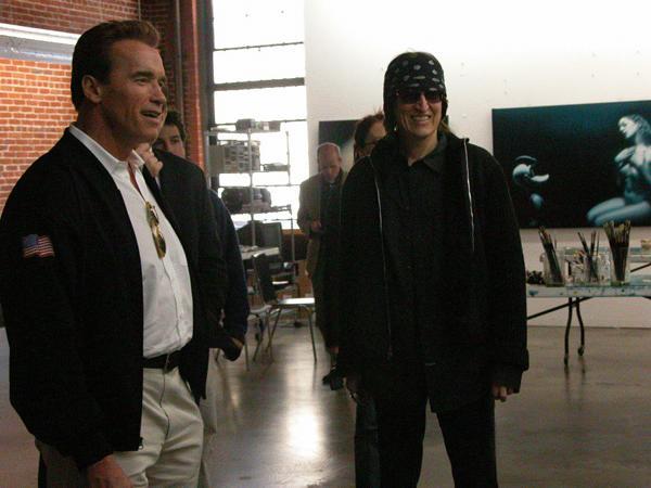 Governor Arnold Schwarzenegger, Helnwein