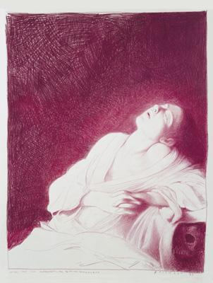 Fainting Magdalene (after the lost Carravagio painting)