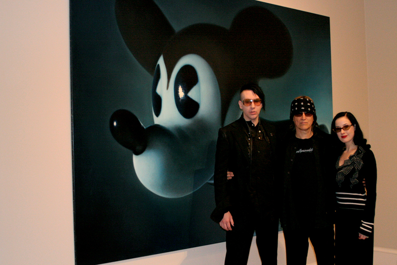 Marilyn Manson, Helnwein, Dita
