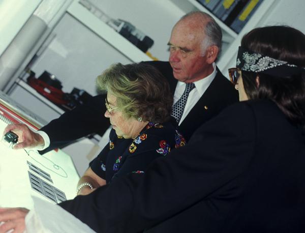Collectors Peter and Irene Ludwig and Helnwein