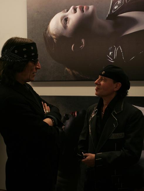 Helnwein and Klaus Meine