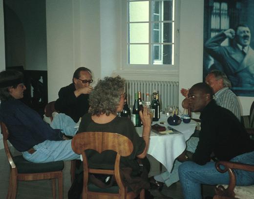 Helnwein, Heiner Mueller, Hans Kresnik and Ismael Ivo