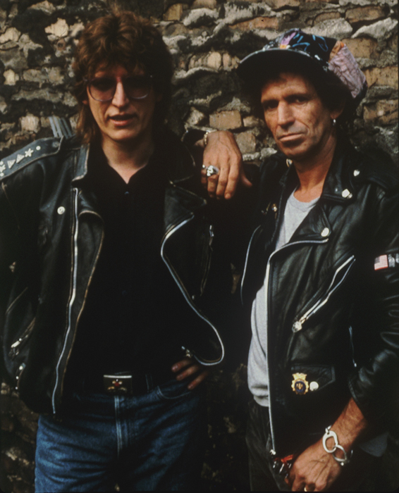 Helnwein and Keith Richards