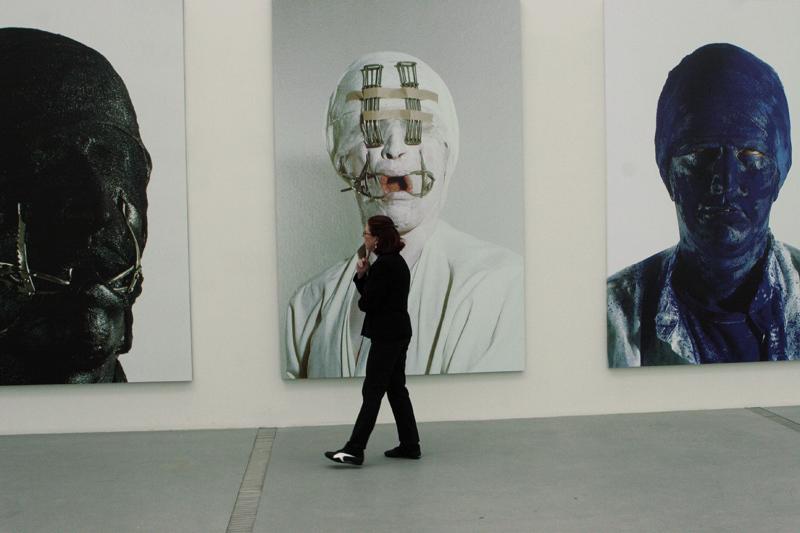 Face it, Gottfried Helnwein solo show, Lentos Museum of Modern Art, Linz