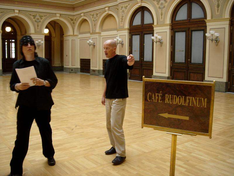 Helnwein and Peter Nedoma, Galerie Rudolfinum Prag
