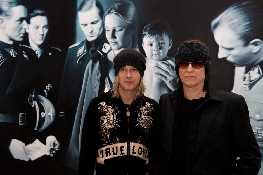 Michael Lockwood and Gottfried Helnwein