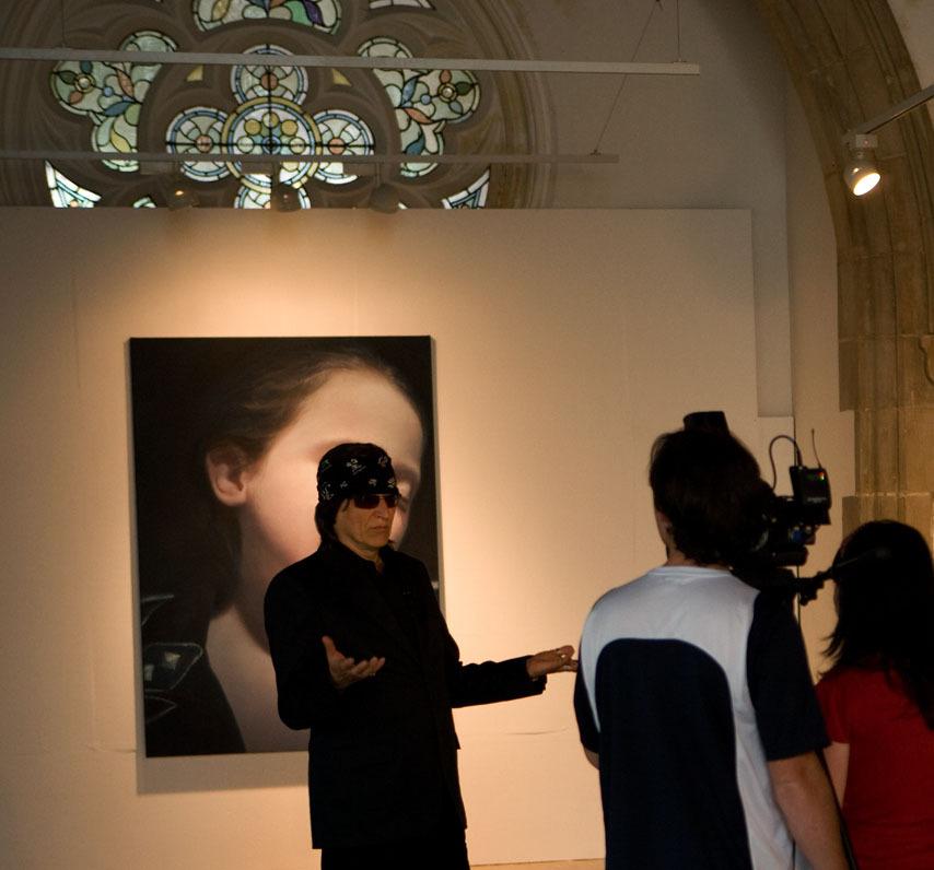 Helnwein interview for the Irish Television