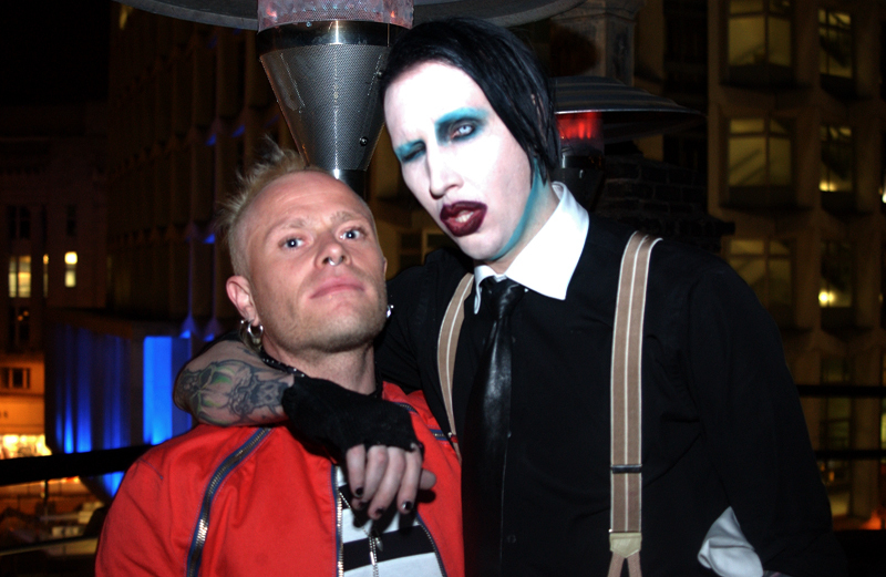 Prodigy's Keith Flint and Manson