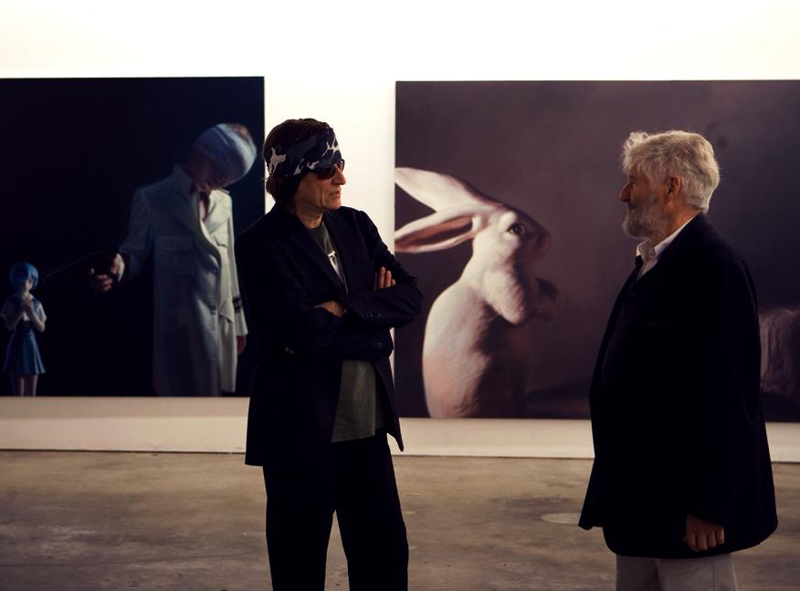 Achim Freyer visits the L.A. studio