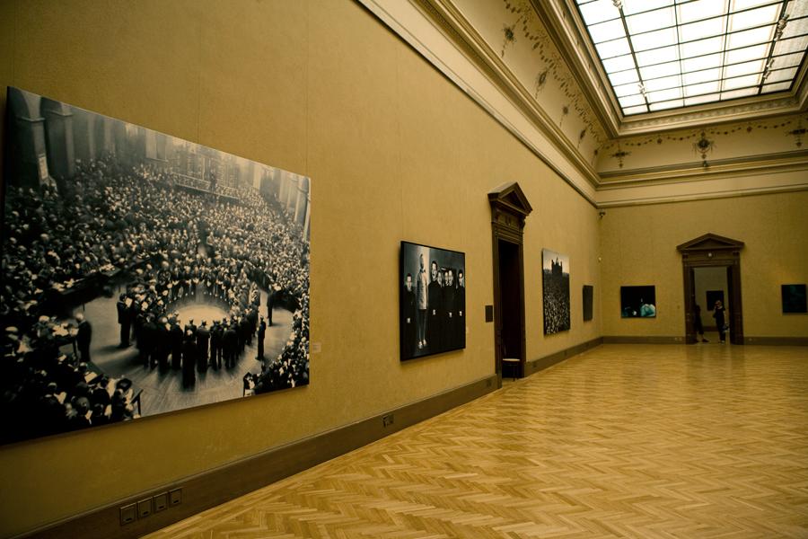 """""""Angels Sleeping"""" Gottfried Helnwein at Rudolfinim Galerie Prague"""