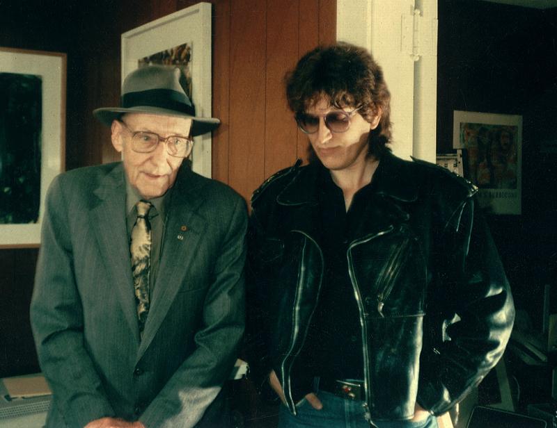 William Burroughs and Gottfried Helnwein
