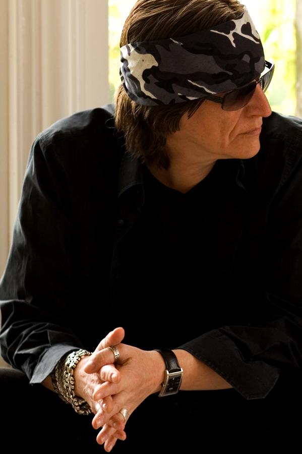 Gottfried Helnwein in the studio