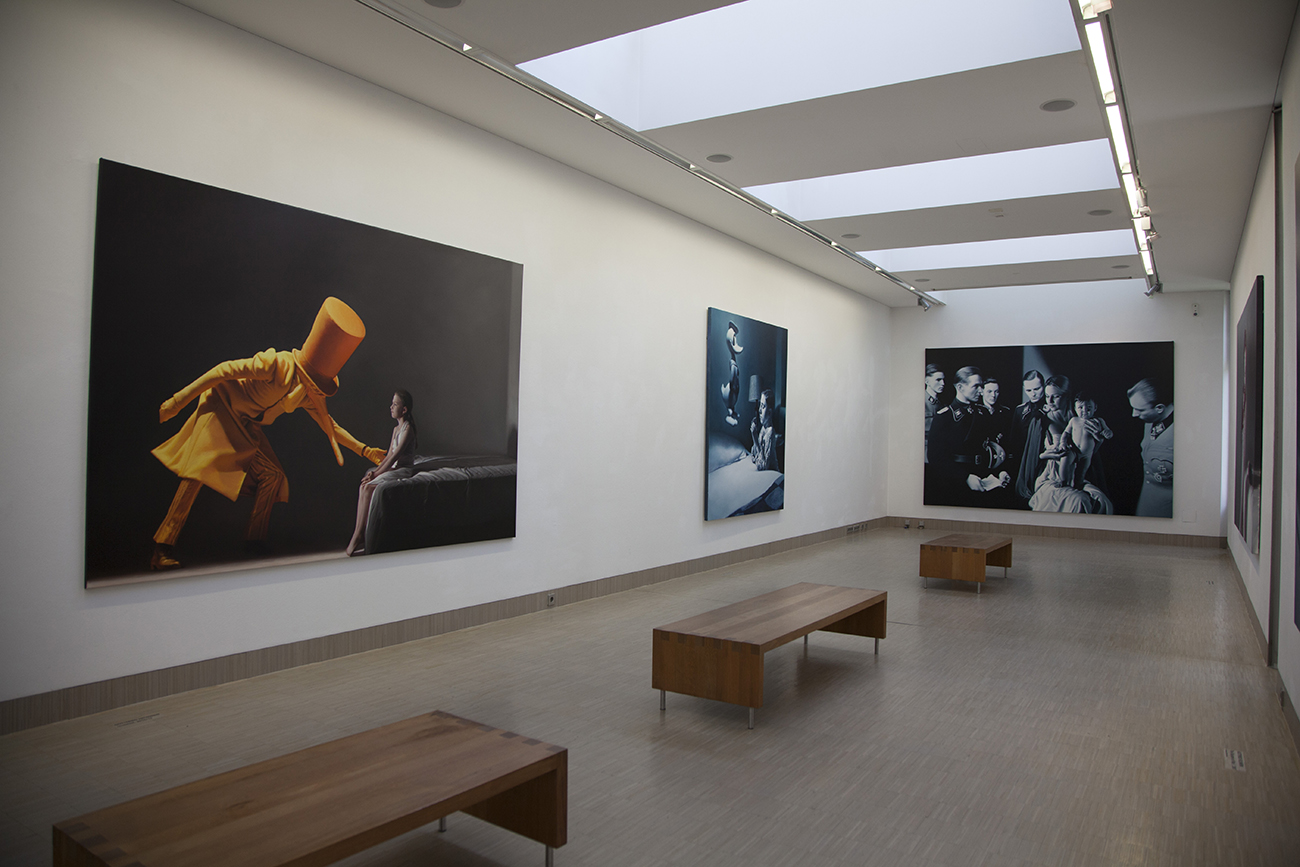Kind, Solo Show at the Werner Berg Museum, Bleiburg