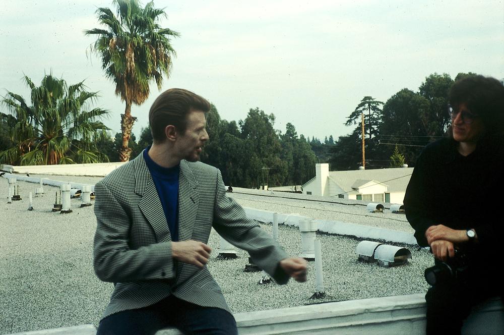 David Bowie, Gottfried Helnwein, Los Angeles