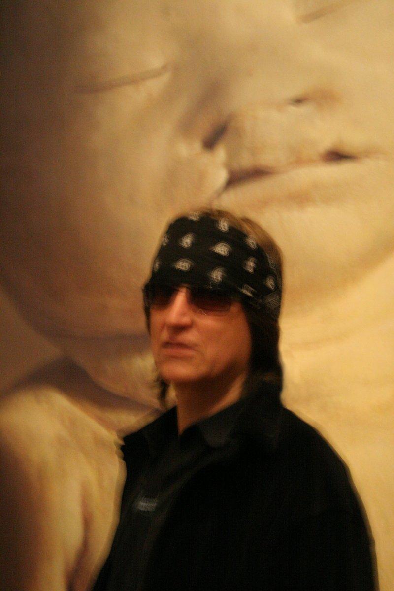 """Gottfried Helnwein at the """"Child"""" exhibition"""