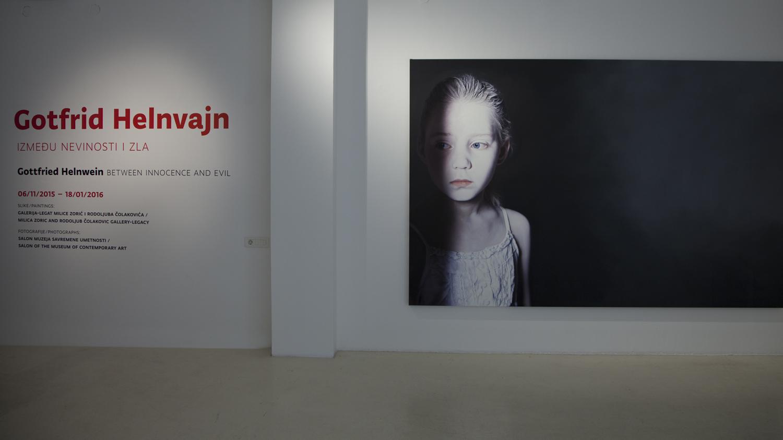 Gottfried Helnwein Solo Exhibition at the Museum of Contemporary Art Belgrade