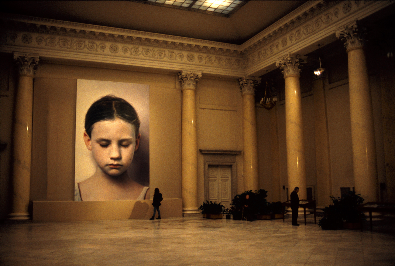 Helnwein Retrospective at the Mikhailovsky Palace of the State Russian Museum St. Petersburg