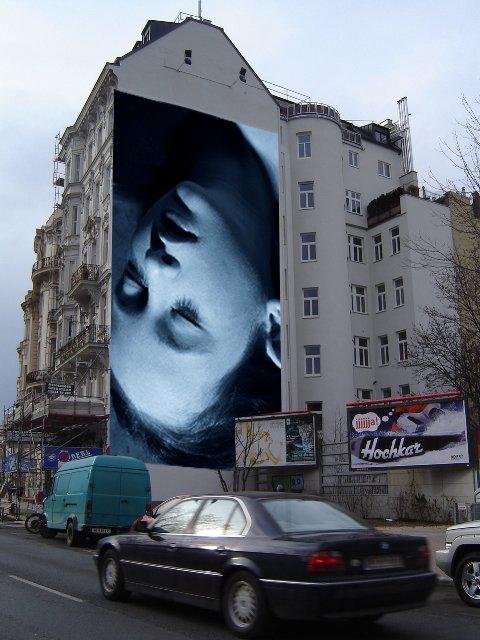 Helnwein Wandbild, Wienzeile, Wien