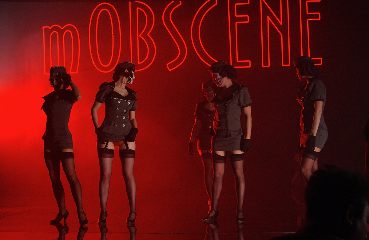 Video for Mobscene, from the Album 'The Golden Age of Grotesque'
