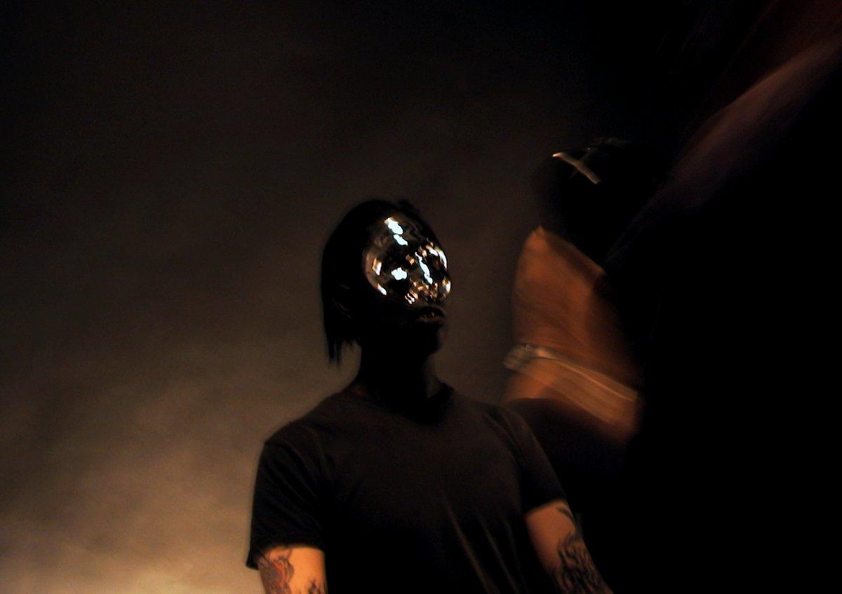 Helnwein shoots Marilyn Manson