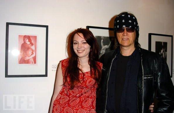 Mercedes Helnwein and Gottfried Helnwein at the Art Share in Los Angeles
