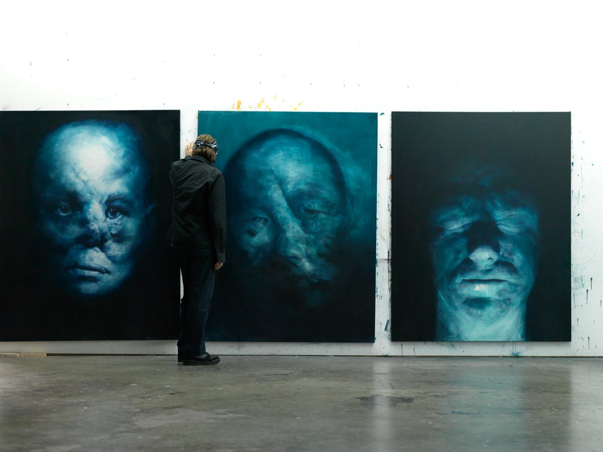 Helnwein and the 'Righteous Men'
