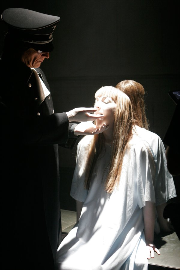 Helnwein in 'Phantasmagoria: The Visions of Lewis Carroll, by Matilyn Manson'